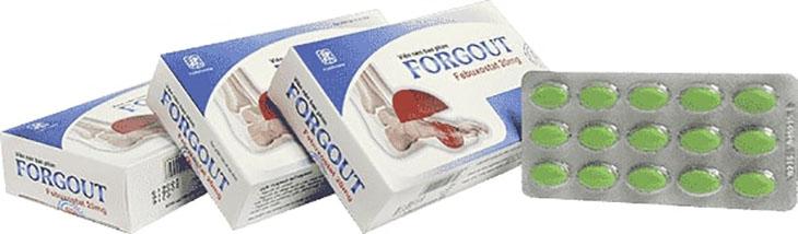 Sản phẩm giúp cải thiện các vấn đề của bệnh gout, đặc biệt là giúp giảm nhanh lượng axit uric trong máu