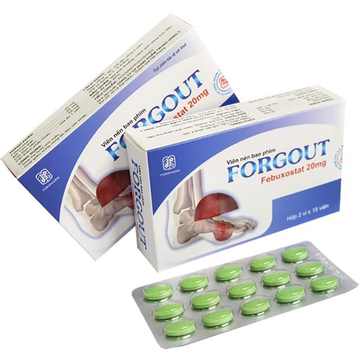 Người bị gout hoặc người bị tăng acid uric trong máu nên sử dụng viên uống Forgout