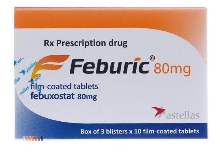 Thuốc Gout Feburic là sản phẩm của hãng Dược phẩm Astellas của Nhật Bản