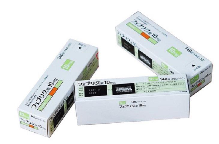 Feburic Tablet 10mg là thuốc kê đơn của bác sĩ để điều trị cho bệnh nhân gout