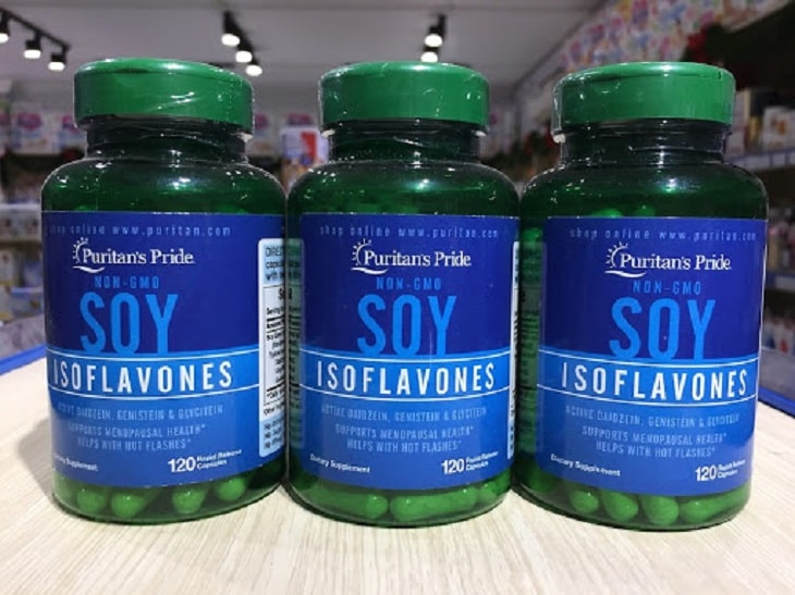Thuốc nội tiết tố nữ của Mỹ Non Gmo Soy Isoflavones