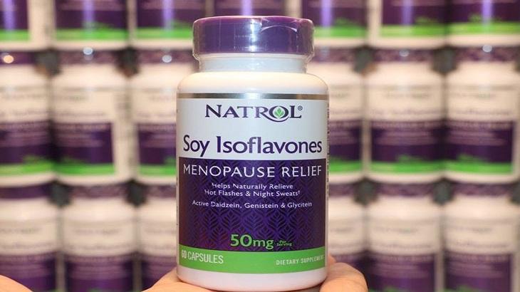 Natrol Soy Isoflavones cũng là sản phẩm được nhiều người ưa chuộng
