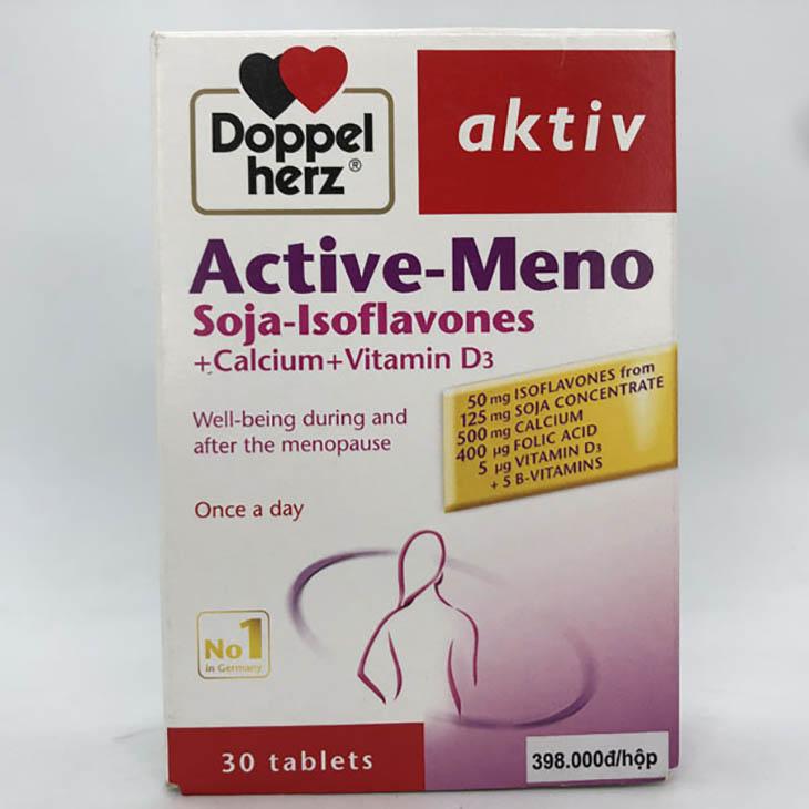 Active Meno được đánh giá cao về chất lượng
