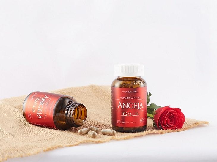 Thuốc nội tiết tố nữ Angela hay còn có tên gọi là Sâm Angela Gold