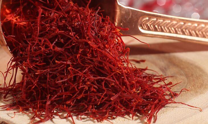 Saffron Negin Iran là loại saffron cao cấp và đắt đỏ nhất