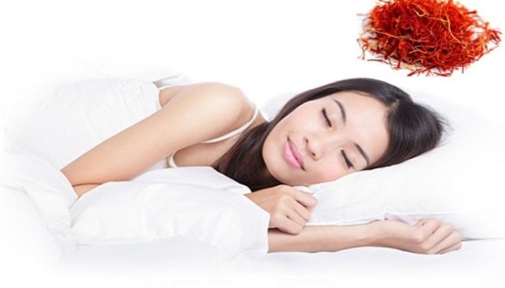 Saffron giúp hỗ trợ điều trị chứng mất ngủ hiệu quả