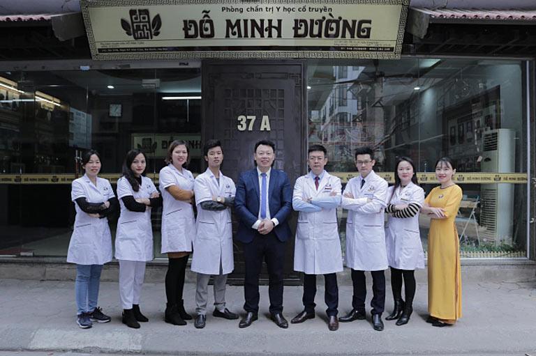 Đội ngũ lương y, bác sĩ của nhà thuốc Đỗ Minh Đường