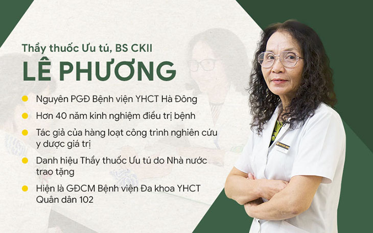 Bác sĩ Lê Phương chỉ ra phương pháp loại bỏ mề đay tận gốc, lành tính