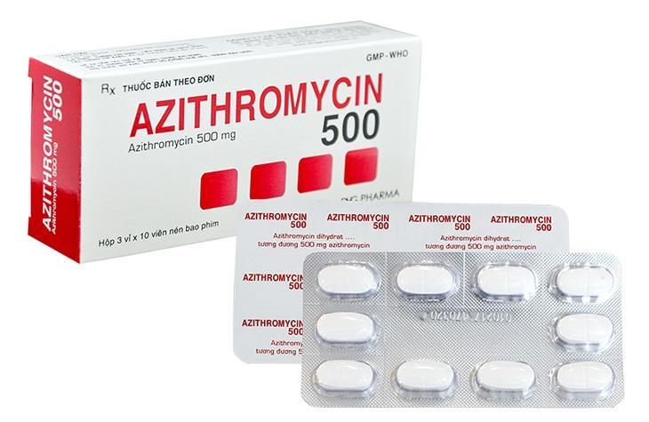 Azithromycin 500mg được sử dụng trong điều trị bệnh sốt mò