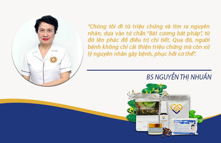 Bác sĩ Nhuần chia sẻ về phương pháp điều trị viêm da mang lại hiệu quả toàn diện