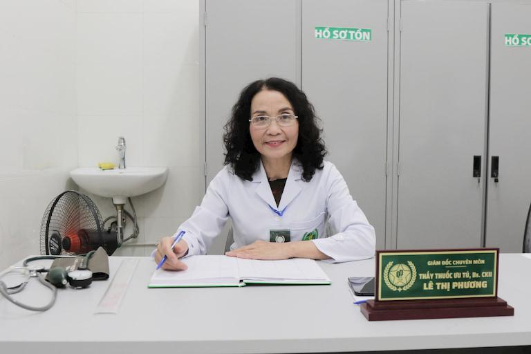 Bác sĩ Lê Phương - Chủ nhiệm đề tài nghiên cứu Bình vị Thần hiệu thang