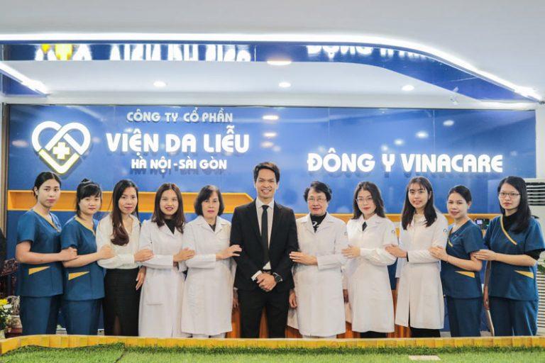 Trung tâm Da liễu Đông y Việt Nam chính thức lấy tên thương hiệu là Viện Da liễu Hà Nội Sài Gòn