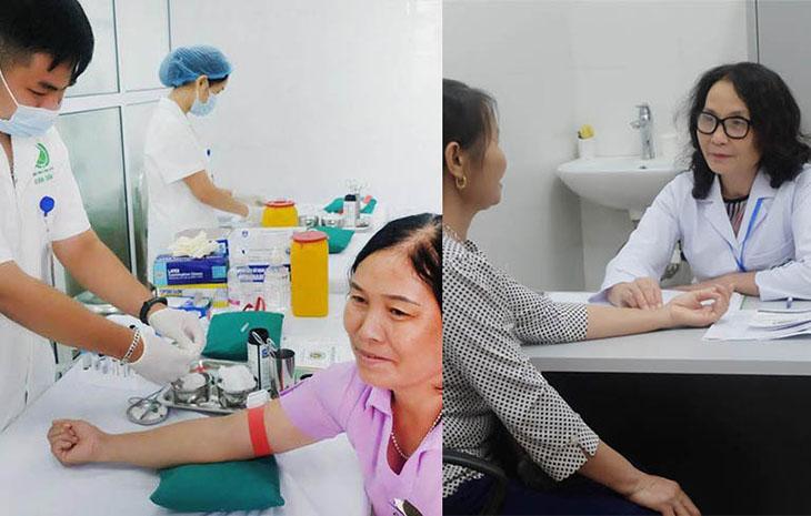 Người bệnh được khám chữa kết hợp Đông - Tây y nên kết quả chính xác và toàn diện hơn