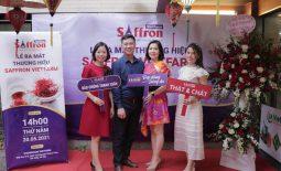 """Lễ ra mắt thương hiệu Saffron Vietfarm - 100% nhuỵ hoa nghệ tây thật từ những sợi """"vàng đỏ"""" chất lượng nhất thế giới"""
