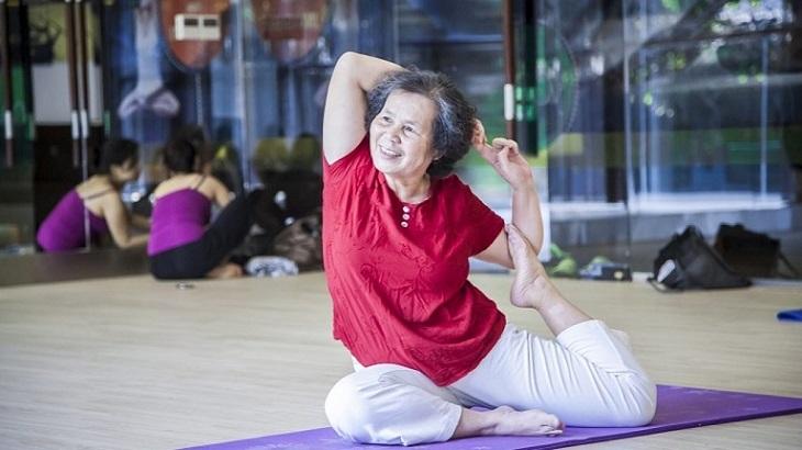 Các bài tập yoga nhẹ nhàng giúp cơ thể tăng cường trao đổi chất