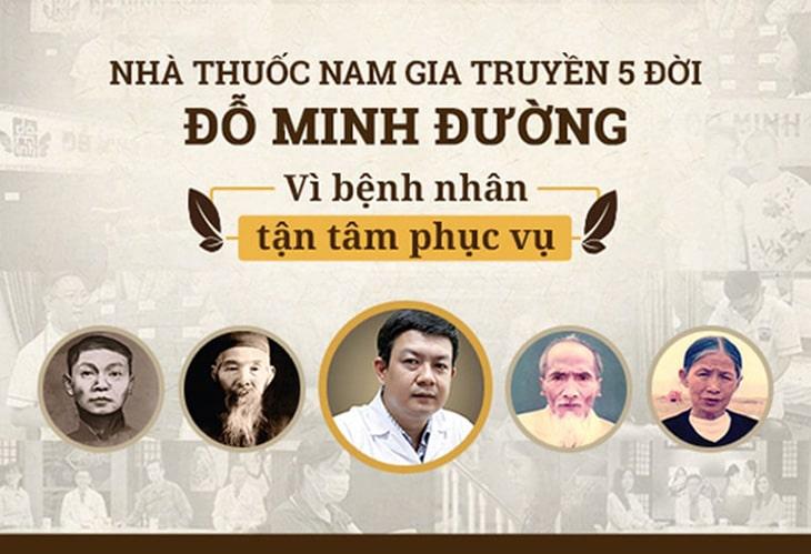 Lịch sử 5 đời khám chữa bệnh tại nhà thuốc Đỗ Minh Đường