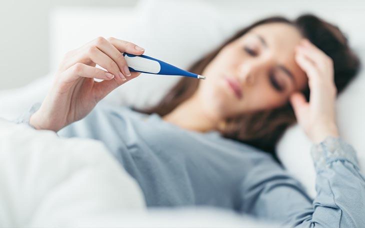 Người bệnh có biểu hiện rõ rệt của hội chứng đáp ứng viêm toàn thân