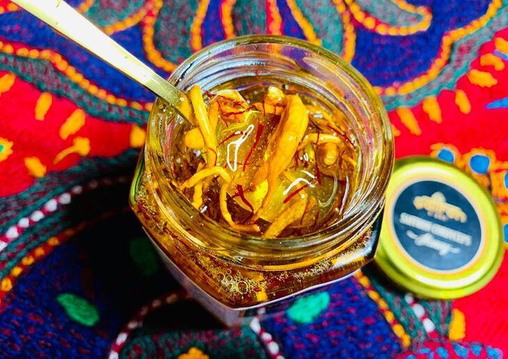 Có thể kết hợp saffron và mật ong, đông trùng hạ thảo