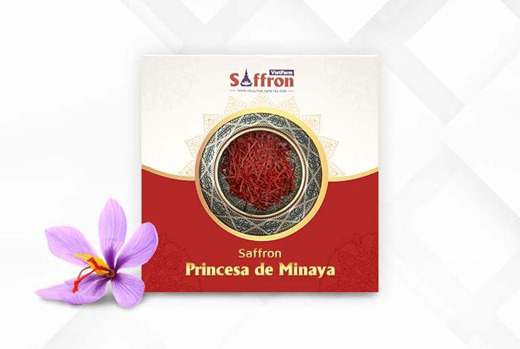 Saffron Princesa de Minaya - Loại Saffron nhập khẩu Tây Ban Nha chất lượng tốt nhất thế giới của Vietfarm
