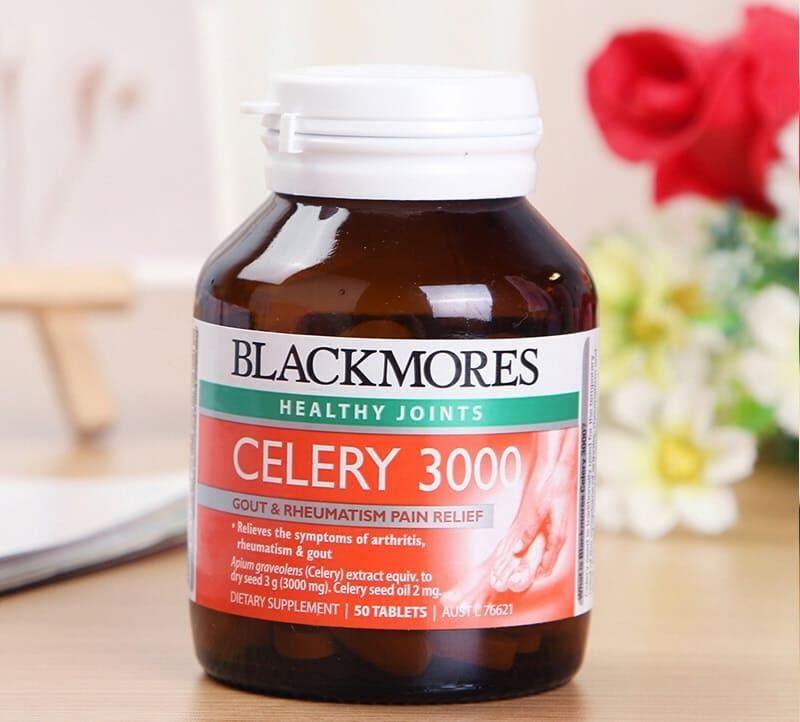 Cách dùng viên uống trị Gout Blackmores