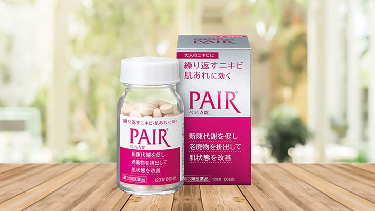 Thuốc trị mụn nội tiết nữ Pair