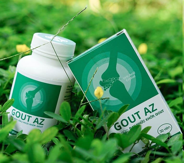 Gout AZ viên uống trị Gout của người Việt