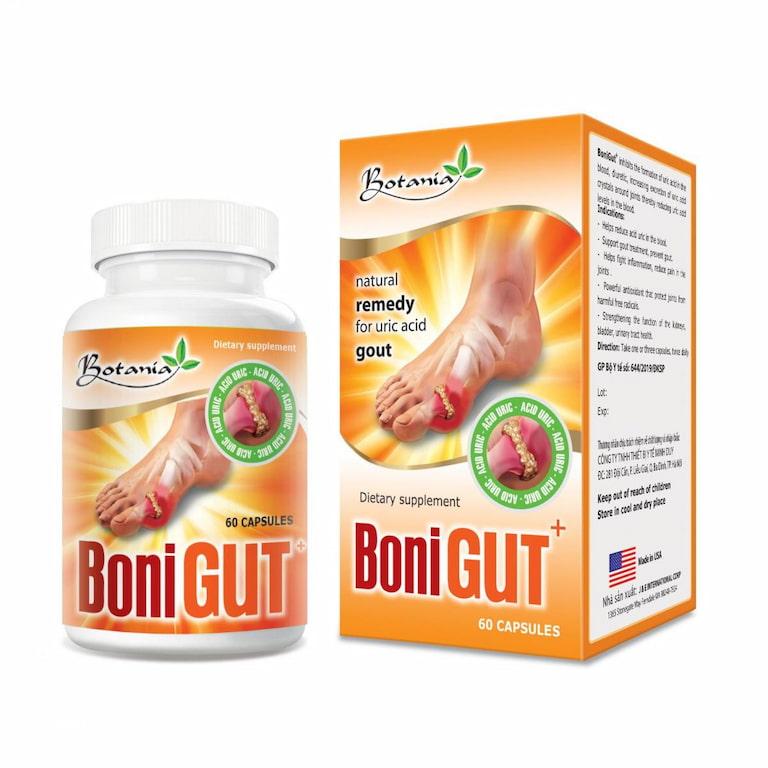 Hạn chế tối đa biến chứng gout nhờ Boni Gout