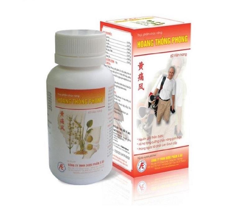 Hoàng Thống Phong có tác dụng hỗ trợ cải thiện các biểu hiện của bệnh gout hiệu quả