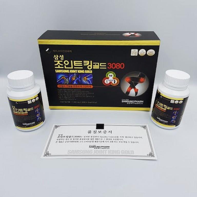 Hạn chế cơn đau nhức nhờ thuốc Hàn Quốc Potent Joint King 3080