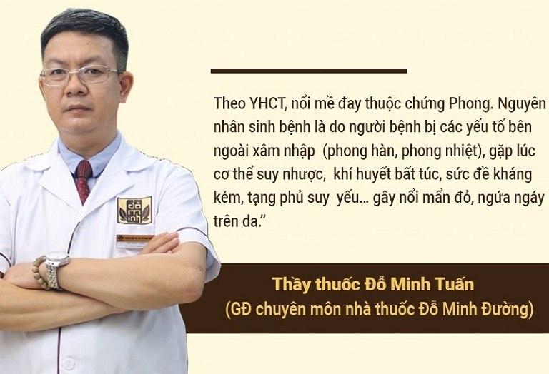 Nguyên nhân gây nổi mề đay theo YHCT