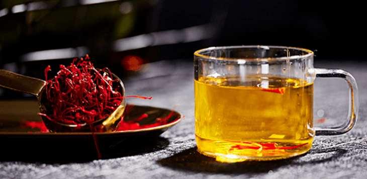 Công dụng trà saffron là gì là thắc mắc thường gặp