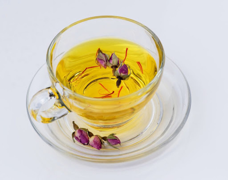 Trà nhụy hoa nghệ tây hoa hồng có hương thơm hấp dẫn
