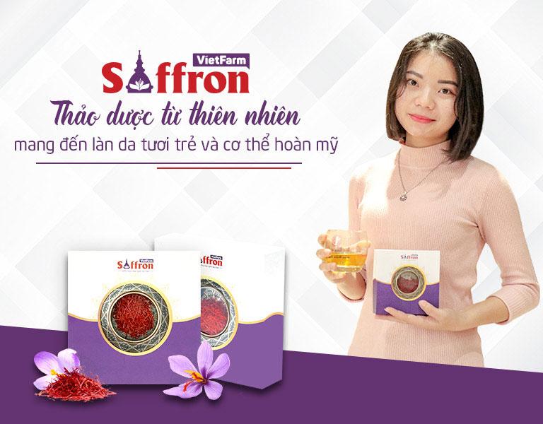 Chị Thanh Ngân - khách hàng thân thiết của Saffron Vietfarm