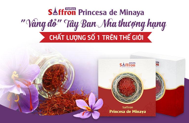 Princesa de Minaya thương hiệu Saffron thượng hạng danh giá nhất Tây Ban Nha