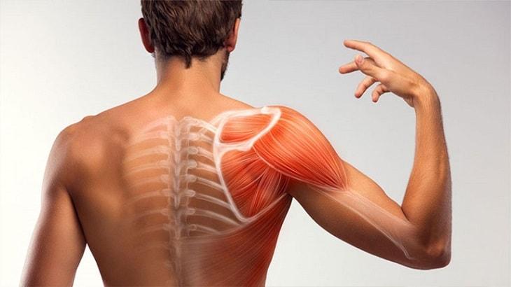 Bấm huyệt để chữa đau khớp quanh vai