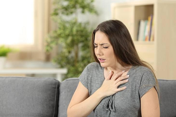 Khó thở cũng có thể tác động vào huyệt
