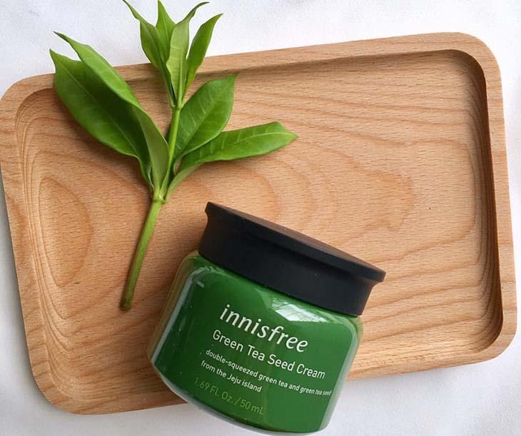 Kem dưỡng ẩm Innisfree cho da mụn Innisfree Green Tea Seed Cream