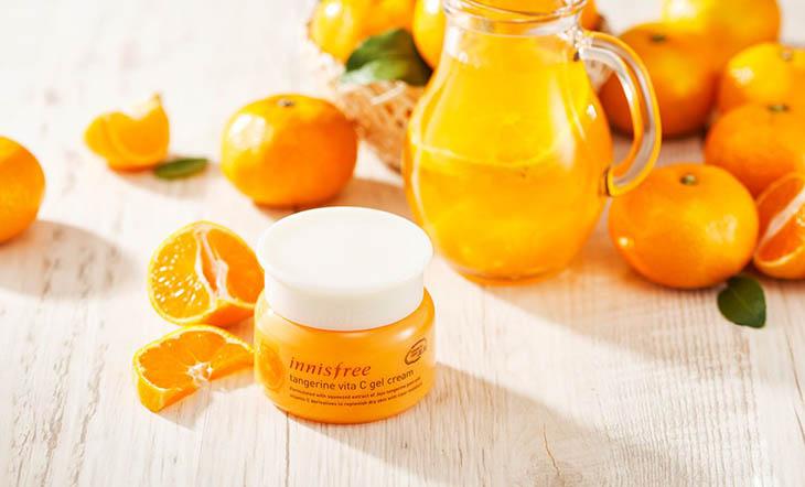Innisfree Tangerine Vitamin C Gel Cream
