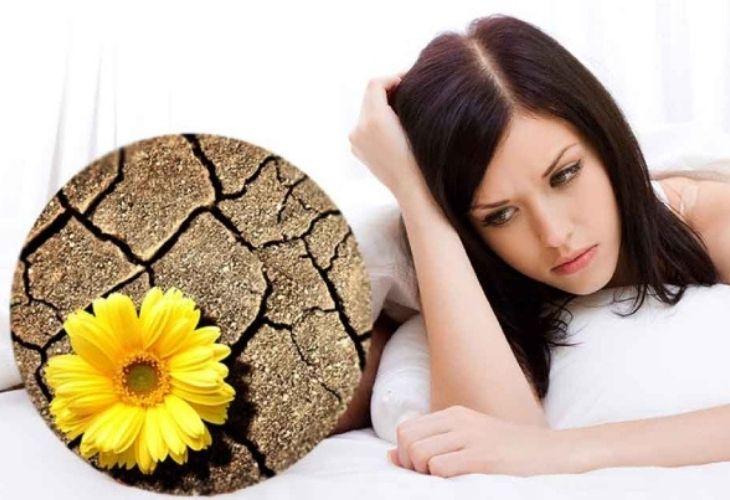 Khô âm đạo xuất phát từ việc thiếu hụt nội tiết