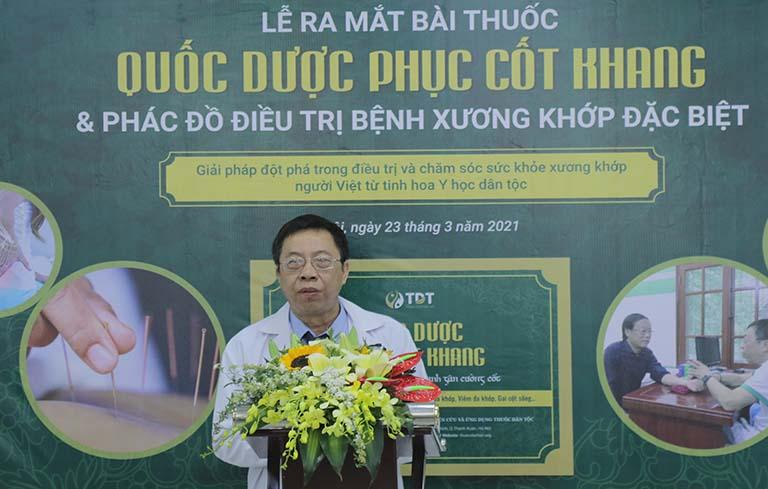 Thầy thuốc ưu tú, bác sĩ Lê Hữu Tuấn công bố hiệu quả bài thuốc