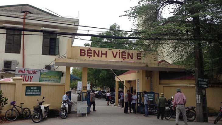 Bệnh viện E Hà Nội chữa nhiều bệnh về đường tiết niệu