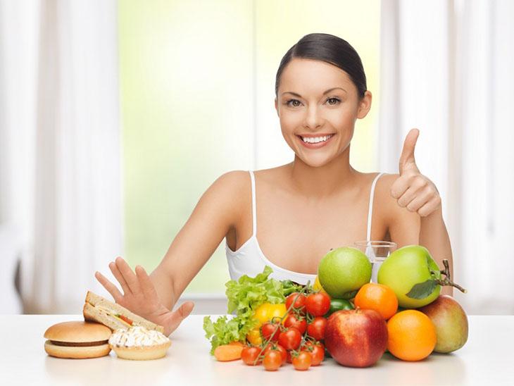 Chế độ dinh dưỡng hợp lý giúp da khỏe mạnh