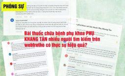 Phụ Khang Tán được quan tâm trên webtretho