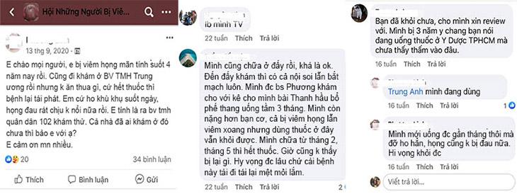 Rất nhiều người review về Thanh hầu bổ phế thang trên mạng xã hội