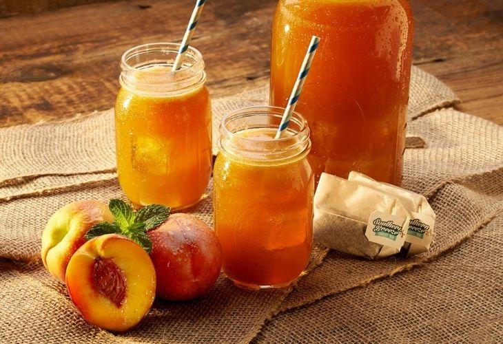 Nước ép quả đào với nhiều dưỡng chất tốt cho cơ thể