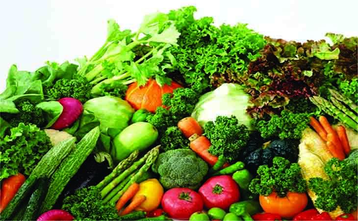 Người bệnh nên ăn nhiều rau xanh