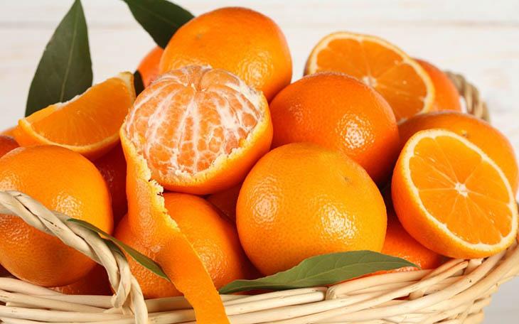 Những quả có múi như cam, quýt tốt cho người bị sỏi thận