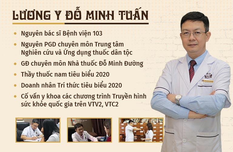Lương y Đỗ Minh Tuấn - cố vấn chuyên môn chương trình Khoẻ thật đơn giản VTV2 - Giám đốc chuyên môn nhà thuốc Đỗ Minh Đường