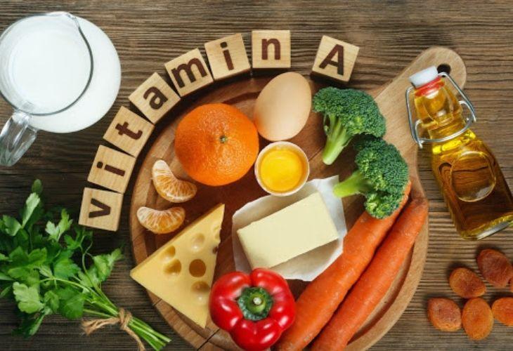 Thực phẩm giàu chiết xuất từ vitamin A giúp kích thích sản sinh estrogen