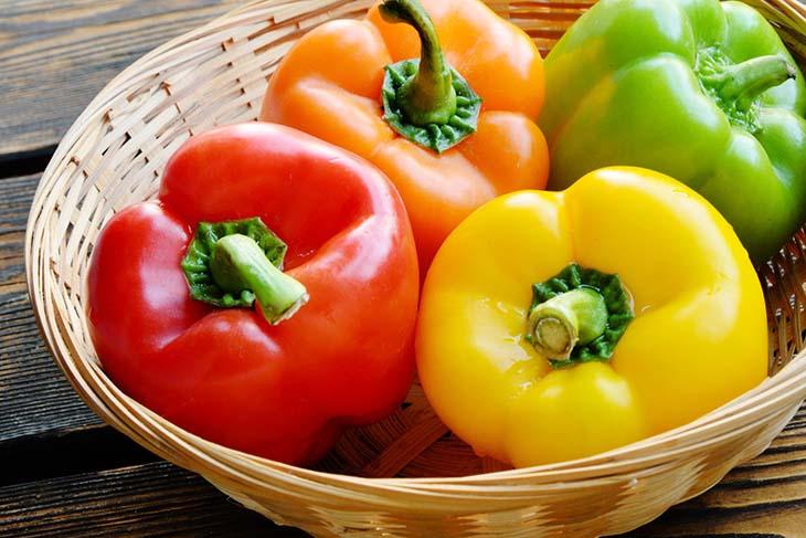 Người bệnh nên ăn ớt chuông để đẩy lùi sỏi thận